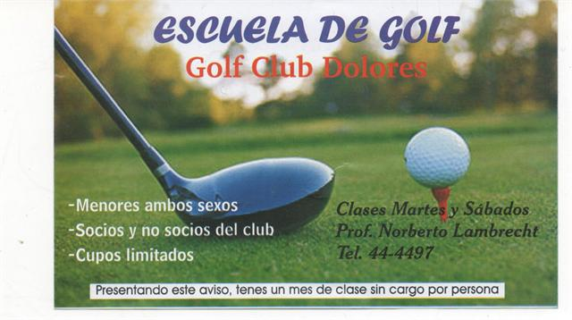 Escuela de Golf Aero Golf Club Dolores
