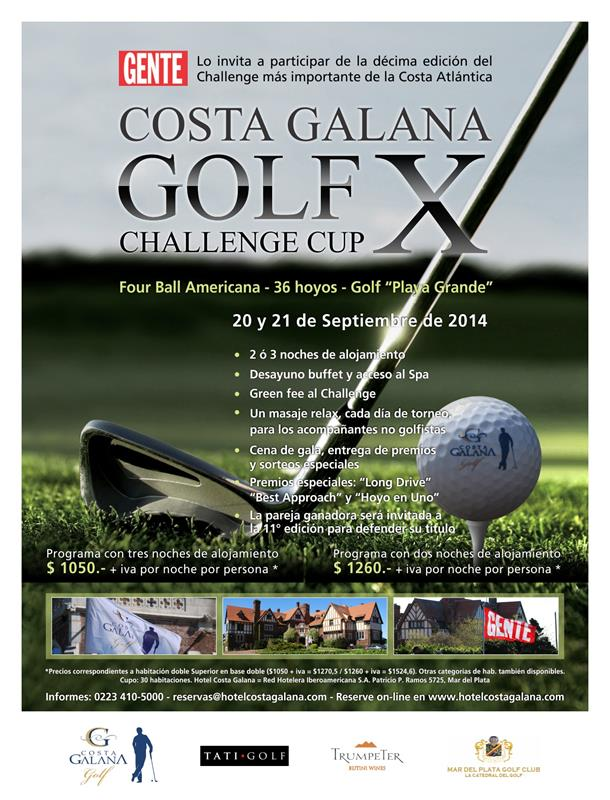 Costa Galana Golf - 10° Challenge Cup -