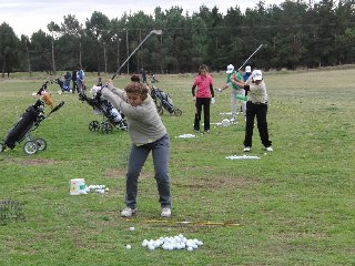 Necochea Golf Club, Sierra de los Padres Golf Club y Tandil Golf Club